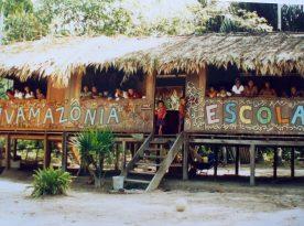 scuola infanzia in amazzonia