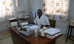 L'ambulatorio medico di Mutuelle Dakwena Tigihon